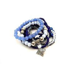 Por noites (e dias) mais azuis e cheios de paz, brilho e equilíbrio! 🌃🌟💙🙏 #pulseiras #pulseirismo #tendencia #azul #equilibrio #moda #amor #bracelet #mix #trend #fashion #blue #mood #balance #love #instamix #instafashion #instalike #instamood #instagood