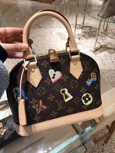Louis Vuitton Alma BB Romantic Love Bag M44368 4efad55a8fa40