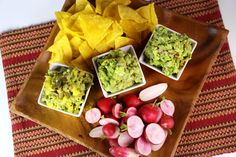 Guacamole 3 ways! Try these variations on a favorite Mexican condiment - the Chew