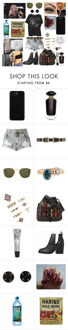 """""""Jammin'"""" by winter-n-rose ❤ liked on Polyvore featuring Victoria's Secret, B-Low the Belt, Linda Farrow, Alison Lou, Forever 21, Bandana, Cowshed, Melissa Joy Manning and Brandy Melville"""