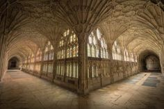 ITAP from the cloisters inside Gloucester Cathedral England by . ITAP from the cloisters inside Gloucester Cathedral England by . Carl Sagan, Gloucester Cathedral, The Cloisters, Diagon Alley, Chef D Oeuvre, Place Of Worship, Filming Locations, Voldemort, Durham