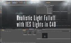 Cinema 4D Tutorial: Realistic Light Falloff with IES Lights on Vimeo
