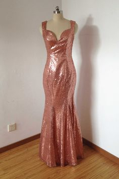 Hey, I found this really awesome Etsy listing at https://www.etsy.com/listing/229041749/mermaid-straps-v-neck-backless-rose-gold