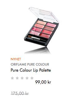 Pure Colour Lip Palette