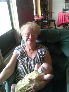 My mother and her great grandchild