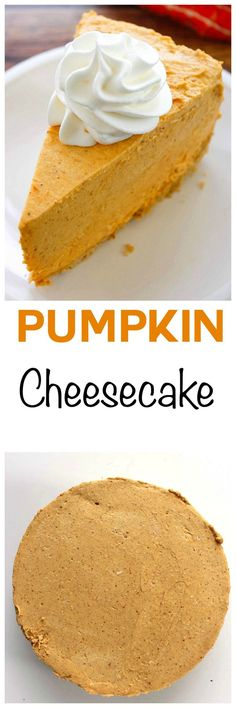 Cheesecake Factory Pumpkin Cheesecake Copycat Recipe: Creamy mile high pumpkin cheesecake that has just the right amount of spice and is topped with fresh whipped cream. Enjoy Cheesecake Factory's pumpkin cheesecake year round whenever you want with this easy no bake dessert.