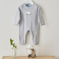 Crochet Lamb Baby Gift Set
