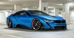 Stunning Blue BMW i8 !!!