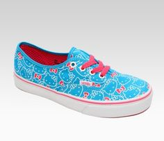 My Style! Bright colors and Hello Kitty all in one shoe! #sephorahellokitty