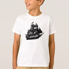 Pirates of the Caribbean ship Disney T-Shirt - click to get yours right now!