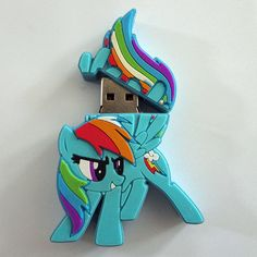 I found 'Rainbow Dash 8.0GB USB Drive' on Wish, check it out!