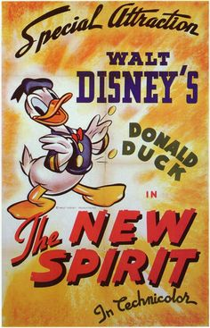 """CAST: Donald Duck; PRODUCER: Walt Disney; Features: - 11"""" x 17"""" - Packaged with care - ships in sturdy reinforced packing material - Made in the USA SHIPS IN 1-3 DAYS"""