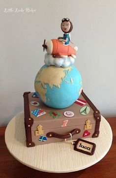 Travel theme cake                                                       …