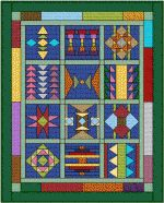 Pendleton Inspired - Free Quilt Pattern at www.BOMquilts.com!