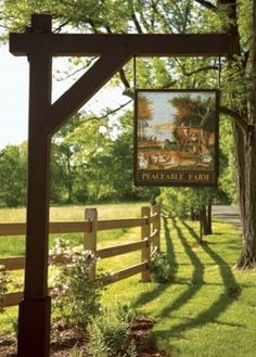 Entrance to the farm!