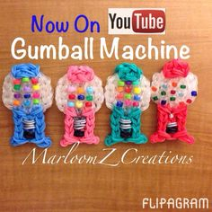 ▶ Gumball Machines by all of my Instagram Followers! Play #flipagram Video - http://flipagram.com/f/FcFlobPIpZ