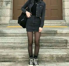 Korean Fashion – How to Dress up Korean Style – Designer Fashion Tips Edgy Outfits, Mode Outfits, Fall Outfits, Fashion Outfits, Hipster Outfits, Fashion Clothes, Style Fashion, Christmas Outfits, Couple Outfits