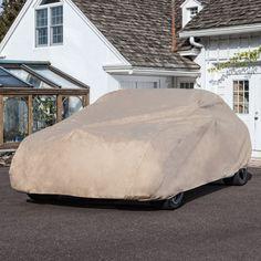 "Budge Rain Barrier Car Cover Fits Sedans up to 16'8"""" Long|Waterproof |Breathable, tan (RSD-3) Paper Model Car, Paper Models, Grand Marquis, Cheap Cars, Car Covers, Interior Accessories, Survival, Sedans, Mercury"