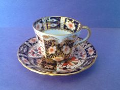 A personal favorite from my Etsy shop https://www.etsy.com/ca/listing/595896455/royal-crown-derby-imari-demitasse-teacup