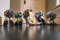 Love these shoes! From an Avengers Comic Book Themed Wedding