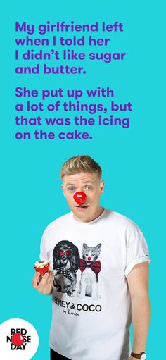 Baking for Red Nose Day? Our free fundraising kit will help you raise some dough. Order yours from our website