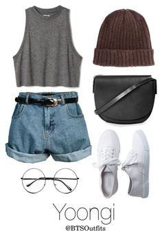 """""""Disneyland with Yoongi"""" by btsoutfits ❤ liked on Polyvore featuring Aéropostale, Retrò, ASOS and Topshop"""
