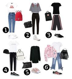Back ti school Miss Selfridge, Adidas Originals, Madewell, Yves Saint Laurent, Mango, Converse, Fashion Looks, School, Polyvore