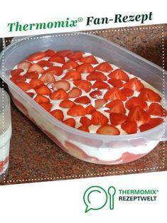 Erdbeertiramisu von MonaLisal. Ein Thermomix ® Rezept aus der Kategorie Backen süß auf www.rezeptwelt.de, der Thermomix ® Community.
