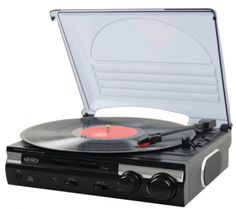 Win Jensen 3 Speed Stereo Turntable Or $40 Amazon Gift Card