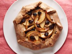 Rustic Apple Pie with Dried Cherries