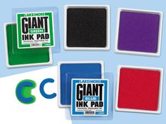 Giant Kid-Safe Stamp Pad