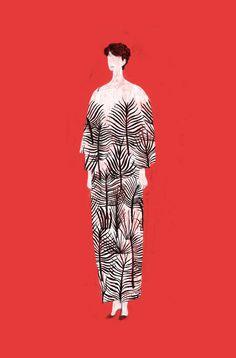 Me fait penser à la grande robe de Marguerite