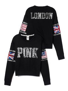 more workout cuteness and i adore all things britt.  loves. Limited Edition London Crew PINK   medium