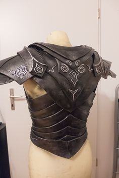 Ebony Armor - WIP 3b by Folkenstal on deviantART
