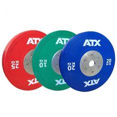 Die ATX® High-Quality Bumper-Plates werden höchsten Ansprüchen gerecht. exakt ausbalancierte Hantelscheibe mit geringster Gewichtsabweichung +/- 10 Gramm ermöglicht professionelles Training unter Wettkampfbedingungen. jetzt bestellen unter: http://www.megafitness-shop.info/Kraftsport/Hanteln-Gewichte/Hantelscheiben/50-mm/ATX%AE-HQ-Rubber-Bumper-Plates-COLOR-Hantelscheiben-farbig--3395.html