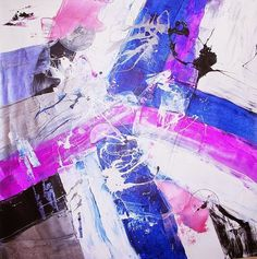 Visit my online gallery and discover the beauty of abstract art - http://joeysantiagofineart.blogspot.com