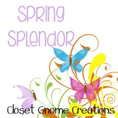 Spring Splendor Cross Stitch Pattern by ClosetGnomeCreations, $1.99