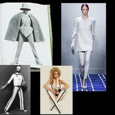 """Como vestimos: ESTILO """"AIRE VINTAGE"""" O NEOECLÉCTICO III: Los años 60: Un periodo casi desconocido Vogue Patterns, Retro, Color, Design, Beat Generation, Anos 60, Style, Colour"""