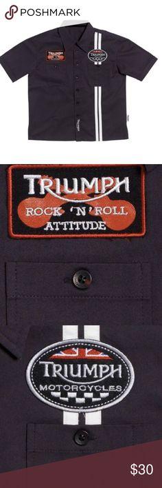 Selling this Rare Triumph Button up dress shirt 3-4T NWT on Poshmark! My username is: novasma. #shopmycloset #poshmark #fashion #shopping #style #forsale #Triumph #Other