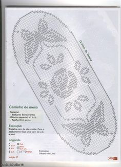 Mania de Arte Barbante № 27 2006 (crochet). Comments: LiveInternet - Russian Service Online Diaries
