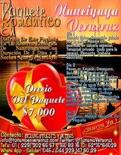 Paquete Romántico En Nanciyaga Veracruz