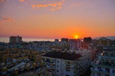 Sunset in Turkey. Summer 2012