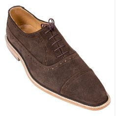 Coffee Brown Suede Oxford Captoes   Gracill Order At  https://gracill.com/ROW/?product=coffee-brown-leather-oxford-captoes #houseofgracill #handmadeshoes #gracillfootwear #gracillshoes #handmade #hand #made #leather #shoes #for #men #coffee #brown #suede #oxford #captoes #menswear #mens #shoes #gracill