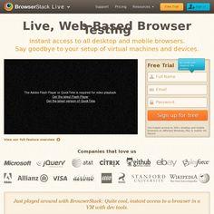 BrowserStack - Browser Testing App