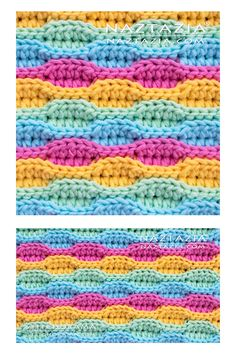 The crochet wave stitch is a pretty simple stitch pattern. It produces a neat wavy and look to the fabric. I like using this stitch pattern in blankets, scarves, shawls, and handbags. # crochet stitches video How to Crochet Wave Stitch Video Crochet Stitches Patterns, Crochet Designs, Stitch Patterns, Knitting Patterns, Crochet Afghans, Loom Patterns, Beginner Crochet Blankets, Wiggly Crochet Patterns, Unique Crochet Stitches