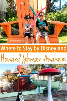 Find out why HoJo Anaheim Hotel & Water Playground is the perfect hotel for your trip to Disneyland! Stay right across the street with free parking and a 10 minute walk to Disneyland's front gate! Disneyland Ticket Prices, Disneyland Tips, Disneyland California, Disney California Adventure, Disney World Characters, Disney World Trip, Disney World Resorts, Disneyland Resort Hotel, Disneyland Park
