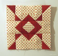 Free Quilt Pattern: January 2018 Monthly Color Challenge Block