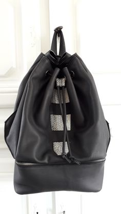 1bfd688cbc12 backpack with fish leather Stylish Backpacks