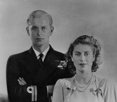 Prince Philip S Sisters | Home / Collections / Large Image - NPG x34084; Queen Elizabeth II ...