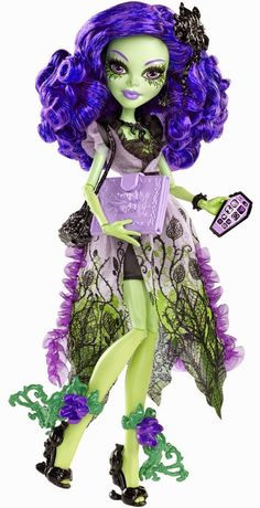 All about Monster High: Amanita Nightshade. New!